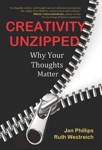 Creativity Unzipped book cover