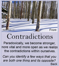 Contradiction Card